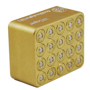 Double Alpha Golden 20-Pocket Gauge – 40S&W