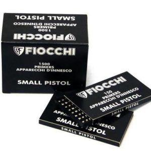 Fiocchi Small Pistol Primers – 1500 Pack