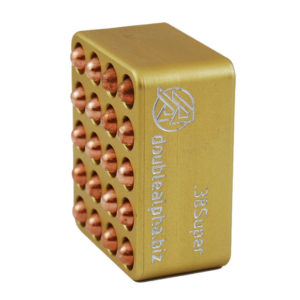 Double Alpha Golden 20-Pocket Gauge – 38 Super
