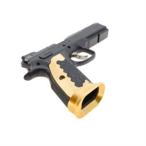CZ Shadow 2 Brass Magwell
