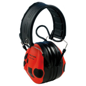 3M Peltor SportTac Electronic Earmuffs (Black/Red)