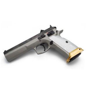 CZ 75 Tactical Sport Brass Magwell