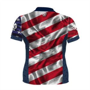 DED Woman's DVC America T-Shirt