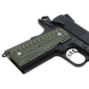 Double Alpha 1911 G10 Grips – Green