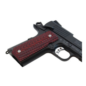 Double Alpha 1911 G10 Grips – Red