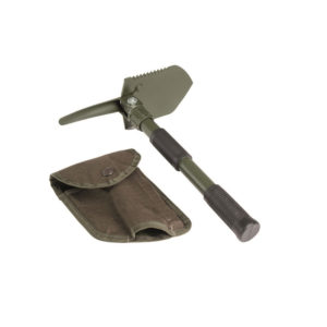 Folding Shovel with Pouch
