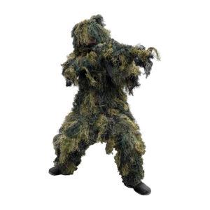 MIL-TEC Ghillie Suit Pro 4 pcs. Woodland