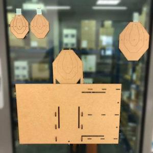 DAA Dry-Fire SWINGER Target Kit