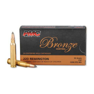 PMC 223 Remington 55gn Soft Point – 1000 Rounds