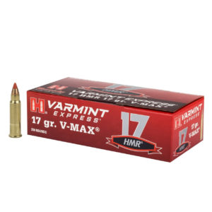 Hornady 17 HMR 17 gr V-MAX Varmint Express Rimfire – 200 rounds
