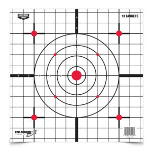 Birchwood Casey Eze-Scorer 12″ Sight-In Paper – 13 Targets