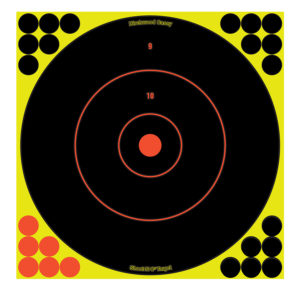 Birchwood Casey Shoot-N-C 12″ Bull's Eye – 5 Targets