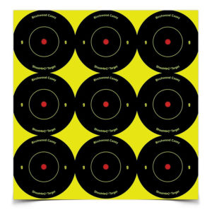 Birchwood Casey Shoot-N-C 2″ Bull's Eye – 108 Targets