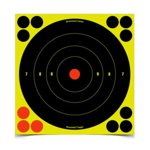 Birchwood Casey Shoot-N-C 8″ Bull's Eye – 6 Targets