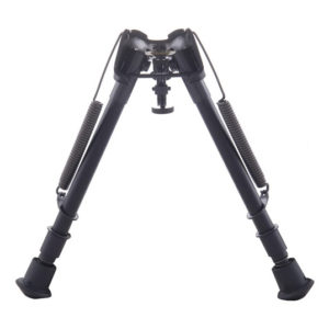 Harris 1A2-LM Spring Loaded Notched Leg Bipod 9″-13″