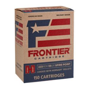 Hornady 223 Remington 55 gr SP Frontier – 150 Rounds