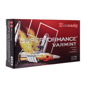 Hornady 204 Ruger 32 gr V-MAX Superformance – 20 Rounds