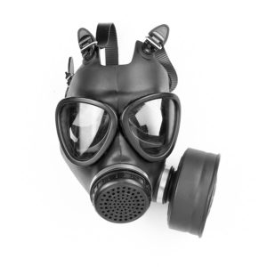 MF-11 Gas Mask with CS Gas Filter