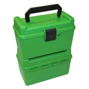 MTM Deluxe 50 Round Rifle Ammo Boxes