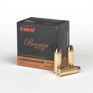 PMC Bronze 44 Magnum 180gr JHP – 25 Rounds