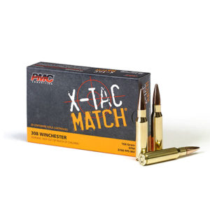 PMC X-TAC Match 308 Winchester 168gr OTM – 20 Rounds