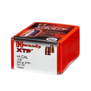 Hornady 44cal 240gr XTP – 100 Projectiles