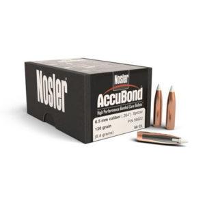Nosler 6.5mm 130gr Accubond – 50 Projectiles