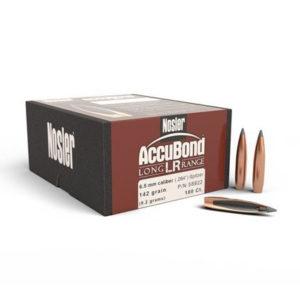 Nosler 6.5mm 142gr Accubond Long Range – 100 Projectiles