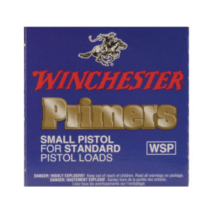 Winchester Small Pistol Primers #1½-108 1000 Pack
