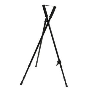 Buffalo River Ridge-Tech 3 Legged Black Shooting Stick