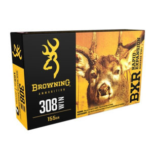 Browning BXR .308 Win 155gr REMT – 20 Rounds