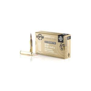 PRVI Partizan .223 Remington 69gr. HP BT – Packet of 20