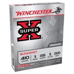 Winchester 410G SuperX OOO 3″ 5 Pellet