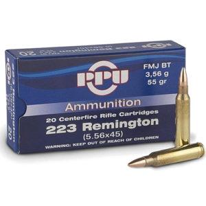 PRVI PARTIZAN 223 Remington 55G SP – 20 Rounds