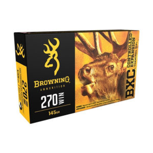 Browning BXC .270 Win 145gr CETT 20 Rounds
