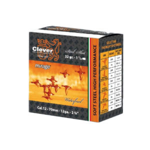 CLEVER MIRAGE SOFT STEEL HUNTING T4 2¾ #4 35GM – 250 Rounds