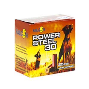 "FALCON 12GA POWER STEEL 2¾"" #4 30GRAM – 250 ROUNDS"