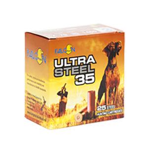 "FALCON 12GA ULTRA STEEL 2¾"" #3 35GRAM – 250 ROUNDS"