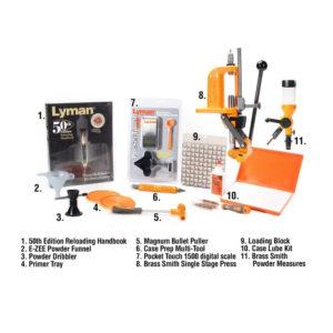 Lyman Brass Smith Victory Press Reloading Kit