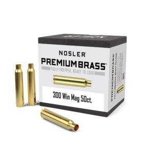Nosler 300 Win Mag Brass Cases Box of 50