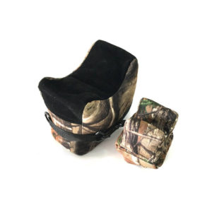 Accu-Tech Range Two Bag Camo Shooting Rest, Filled