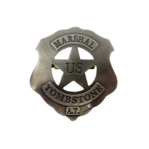 DENIX U.S. Marshall Tombstone Badge