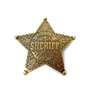 DENIX Lincoln County Sheriff Badge