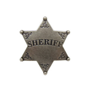 DENIX Sheriff Star Badge
