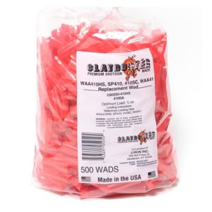 Claybuster 410ga 1/2 oz Red Wads