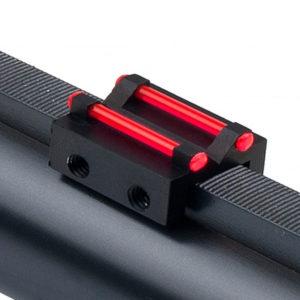 Universal Clamp on Shotgun Fiber Optic Rear Sight