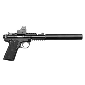 Ruger MARK IV 22/45 Suppressed + Holosun 407C Package