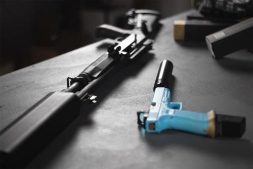 Suppressed TAC12 & Glock 34
